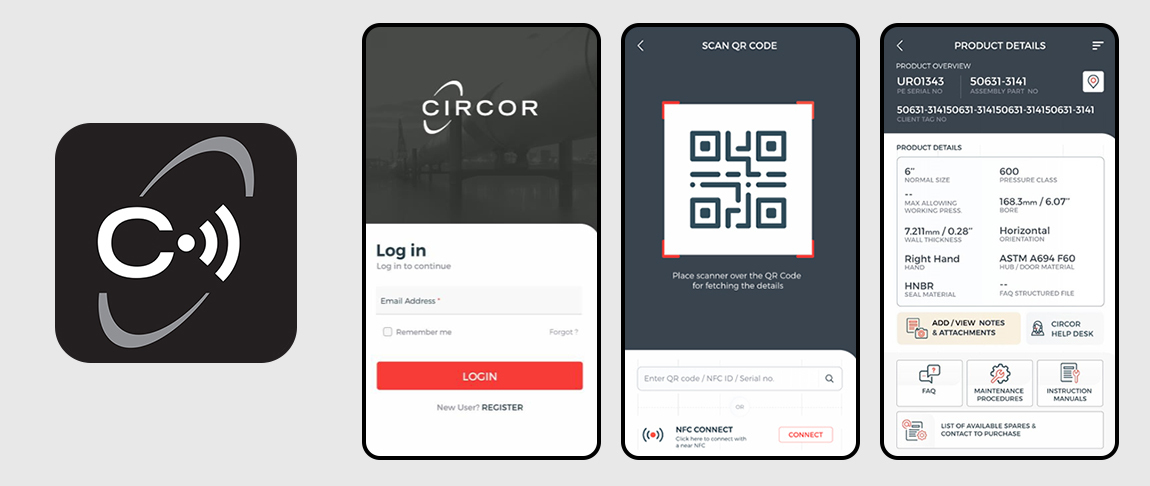 Smart app logo and screens